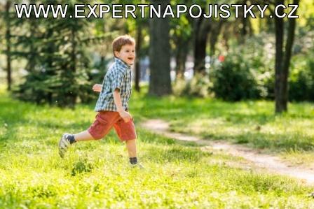 Úrazové pojištění dětí - Chlapec utíkal a zakopl jarmila mlýnková reference expert na pojistky